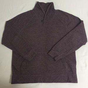 New Banana Republic Maroon Shawl XLT Sweater NWOT